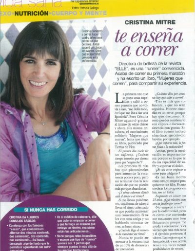 revista diez minutos cristina mitre entrevista